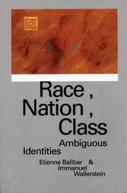Cover of: Race, nation, class | Etienne Balibar
