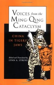 Cover of: Voices from the Ming-Qing Cataclysm