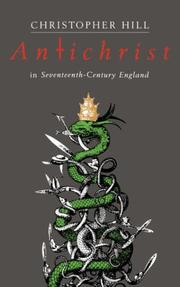 Cover of: Antichrist in Seventeenth Century England (REV) (Riddell Memorial Lectures)