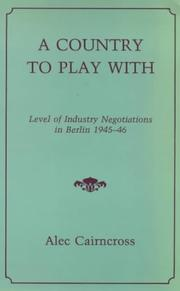 Cover of: Country to Play With