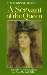 Cover of: A Servant of the Queen | Maud Gonne