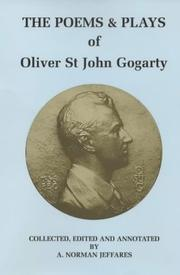 Cover of: The Poems & Plays of Oliver St John Gogarty (Colin Smythe Publication)