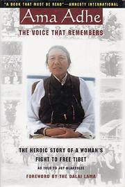 Cover of: Ama Adhe, the voice that remembers