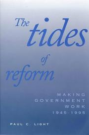 Cover of: The Tides of Reform | Paul C. Light