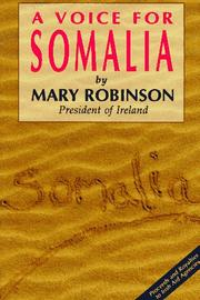 Cover of: A voice for Somalia