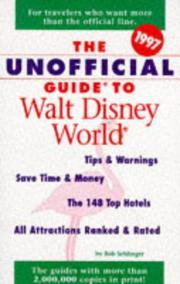 Cover of: The Unofficial Guide to Walt Disney World 1997 (Unofficial Guide to Walt Disney World)