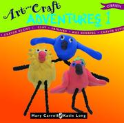 Cover of: Art and Craft Adventures 1 | Mary Carroll, Katie Long