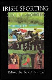 Cover of: Irish Sporting Short Stories | David Marcus