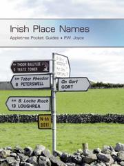 Cover of: Pocket Guide to Irish Place Names