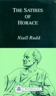 Cover of: Satires of Horace