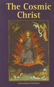 Cover of: Cosmic Christ