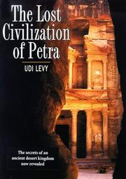 Cover of: The lost civilization of Petra