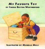 Cover of: My favorite toy