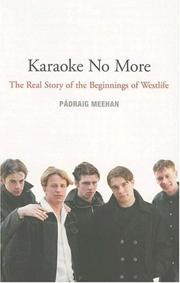 Cover of: Karaoke No More | Padraig Meehan