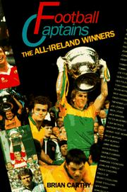 Cover of: Football captains | Brian Carthy