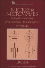 Cover of: Metres to microwaves | E. B. Callick