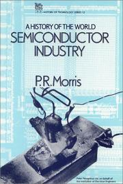 Cover of: A history of the world semiconductor industry