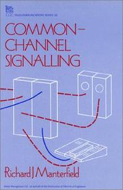 Cover of: Common-channel signalling