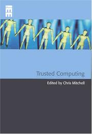 Cover of: Trusted Computing (Professional Applications of Computing) (Professional Applications of Computing)