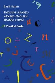 English-Arabic/Arabic-English translation by B. Hatim