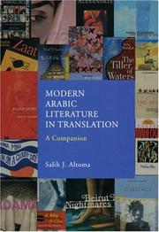Modern Arabic literature in translation by Salih J. Altoma