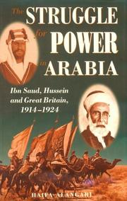 Cover of: The struggle for power in Arabia