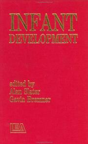 Cover of: Infant Development | Alan M. Slater