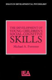 Cover of: The Development Of Young Children's Social-Cognitive Skills (Essays in Developmental Pychology)