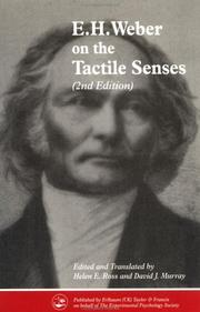 Cover of: On The Tactile Senses