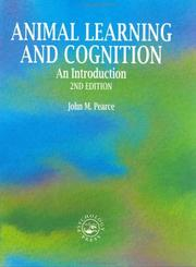 Cover of: Animal learning and cognition