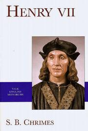Cover of: Henry VII