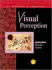 Cover of: Visual Perception | Steven Yantis