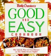 Good and easy cookbook by Betty Crocker