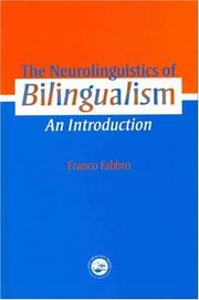 Cover of: The neurolinguistics of bilingualism
