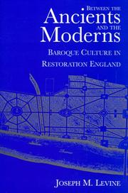 Cover of: Between the ancients and the moderns