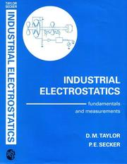 Cover of: Industrial electrostatics