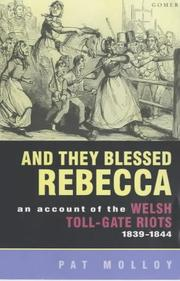Cover of: And They Blessed Rebecca | Pat Molloy