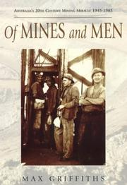 Cover of: Of mines and men