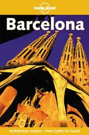Cover of: Lonely Planet Barcelona (1st ed) | Damien Simonis