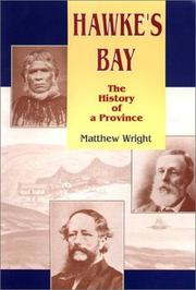 Cover of: Hawke's Bay: the history of a province