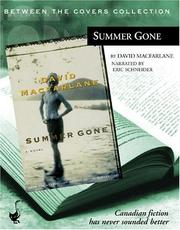 Cover of: Summer Gone (Between the Covers Collection) (Between the Covers Collection) | David MacFarlane