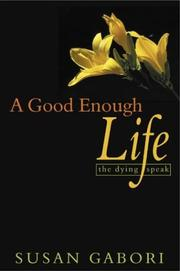 Cover of: A Good Enough Life | Susan Gabori