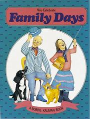 Cover of: We celebrate family days