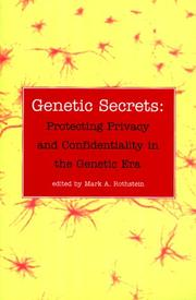 Cover of: Genetic Secrets | Mark A. Rothstein