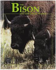Cover of: The Bison and the Great Plains