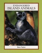 Cover of: Endangered island animals