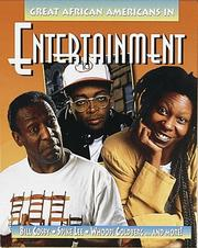 Cover of: Great African Americans in entertainment