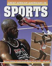 Cover of: Great African Americans in sports