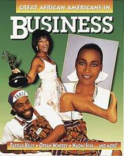 Cover of: Great African Americans in business