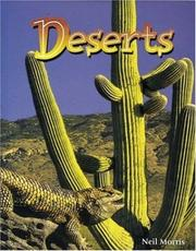 Cover of: Deserts